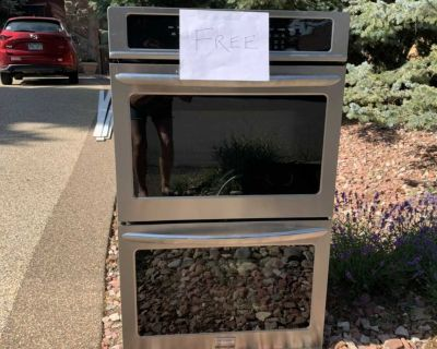 Free Frigidaire Gallery Double Ovens