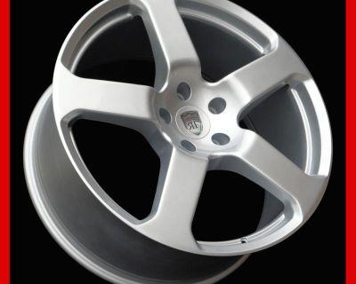 "22"" Wheels Rims For Porsche Cayenne Panamera Audi Q7 Vw Touareg Set Of 4 New"