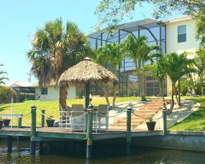 4/3 Villa Gulf Access,Pool+Spa - Caloosahatchee