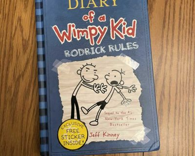 Diary of a Wimpy Kid - Rodrick Rules - hardcover