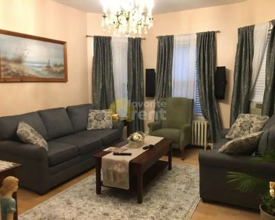 Fully furnished 4 bedroom apartment in Dorchester, Boston