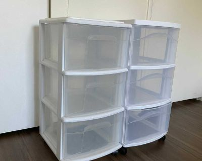 Storage drawers (both for $10)