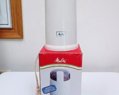 Melita Coffee Grinder (works for spices & nuts too)
