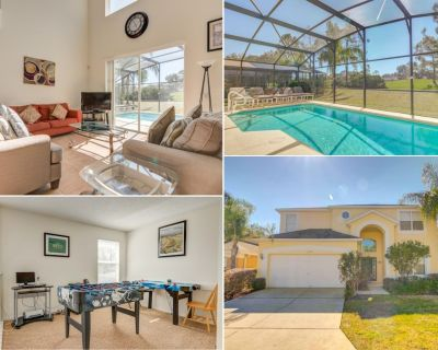 Golf Views Private pool Multi TVs Games Room - Office - Southern Dunes - Haines City