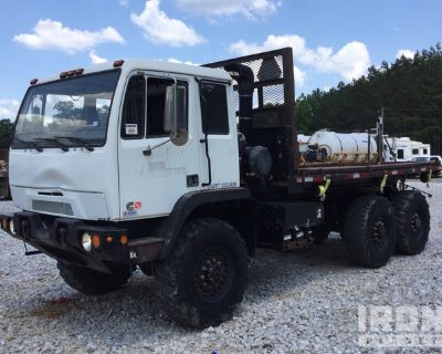2012 BAE Systems 6x6 COE T/A Flatbed Truck