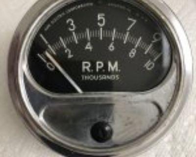 Vintage Sun 10,000 RPM Tach Tachometer