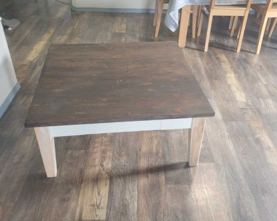 Heavy well built coffee table