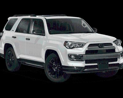 New 2021 Toyota 4Runner Nightshade Special Ed 4X4 4