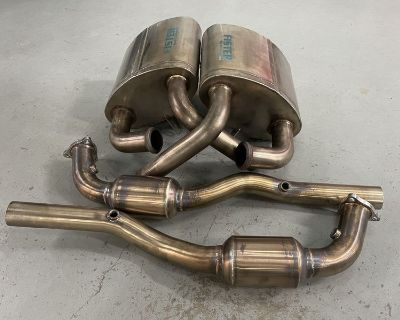 Fister Sport Exhaust Stage 3 996