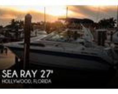 27 foot Sea Ray 27