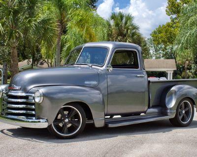 1950 Chevrolet 3100 All-Steel Pickup Restored Truck Engine Swap