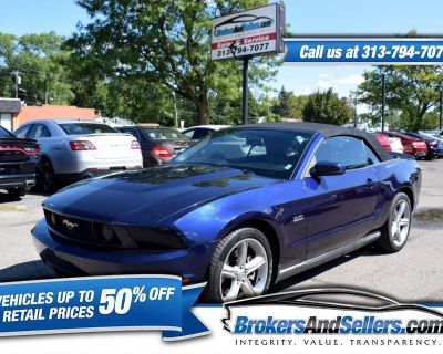 Used 2011 Ford Mustang GT convertible