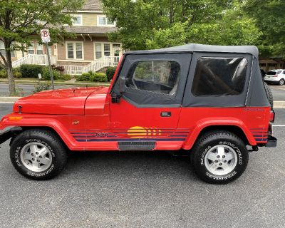 Used 1989 Jeep Wrangler Islander Soft Top