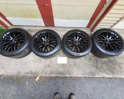 Pending Sale: OEM PP1 Wheels with Michelin Pilot Sport 4S Tires