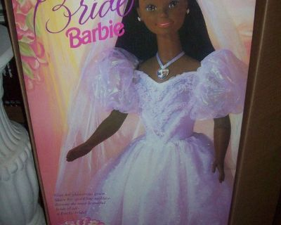 Wear & Share Barbie doll's bridal gown