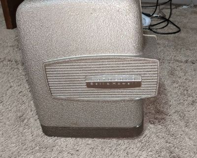 Vintage Bell and Howell movie projector