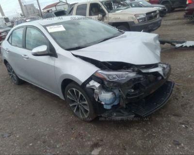 Salvage Silver 2018 Toyota Corolla