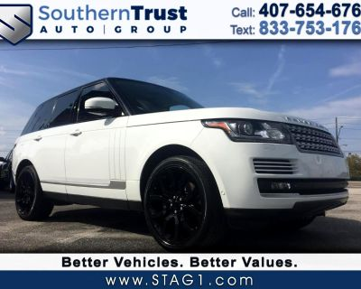 Used 2015 Land Rover Range Rover 4WD 4dr Supercharged