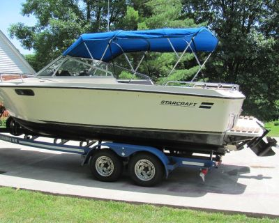 STARCRAFT 'LAKE-ERIE-WORTHY' BOAT FOR SALE reduced price!!