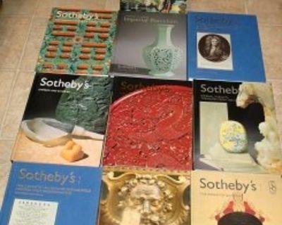 10 SOTHEBY'S AUCTION CATALOGS !