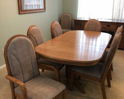 FREE!! Dining table and chairs