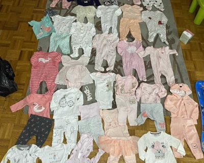 HUGE baby clothing lot