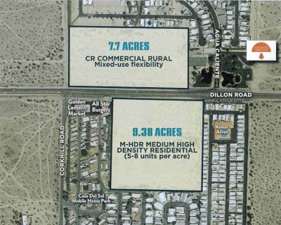 9 Acres Residential Land for Sale