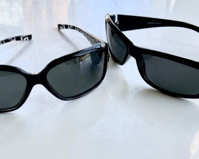 2 pair of Women's Sunglasses