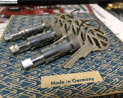 NOS 1964-1965-1966 Front door handle cylinder lock
