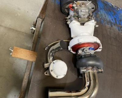 T3T4 side draft turbo setup