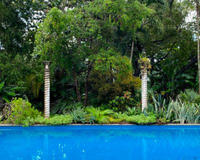 Lush Private Tropical Urban Oasis in the City, Miami, FL