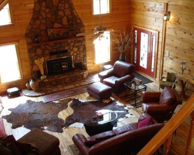 Large Cabin in the Kiamichi Wilderness - Pushmataha County