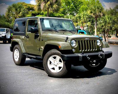Used 2015 Jeep Wrangler Sahara 4x4