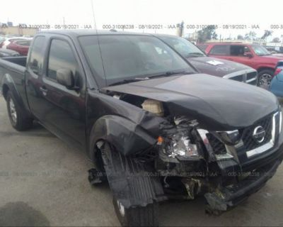 Salvage Black 2014 Nissan Frontier
