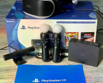 PlayStation VR Bundle -> Camera, Move Controllers, and Demo Disk