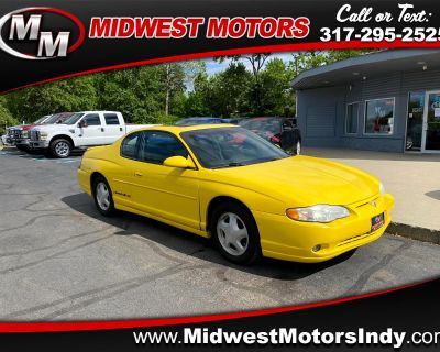 Used 2002 Chevrolet Monte Carlo 2dr Cpe SS