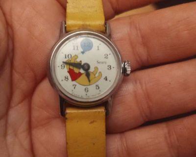 Vintage Winnie the Pooh watch $50