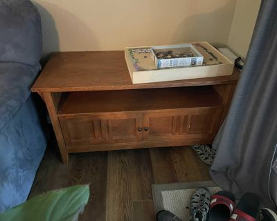 Tv stand and two end tables