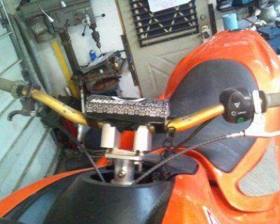 Waverunner Gp1200r Gp1300r Gpr Umi Steering With Renthal Bars, Pad And Riser