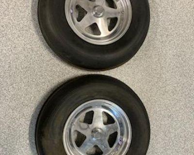 Sand rail dune buggy front wheels tires Douglas Wh