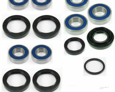 Wheel Bearing Front And Rear Seal Complete Kit For Trx250 Recon 1997-2014