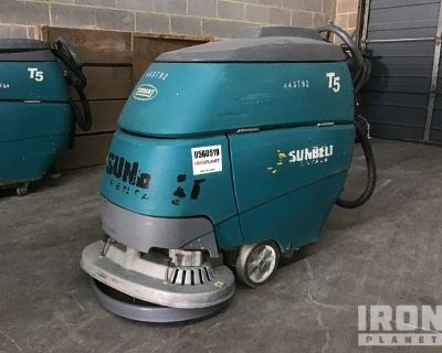 2012 (unverified) Tennant T5 Electric Walk Behind Scrubber