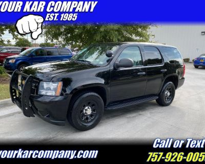 2012 Chevrolet Tahoe Special Service 4x4
