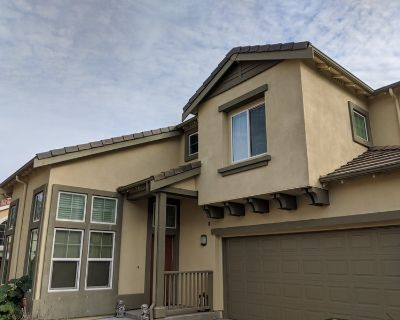 MBR in a large 4 BR home. Private shower/garage.