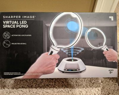 New Virtual LED Space Pong by Sharper Image