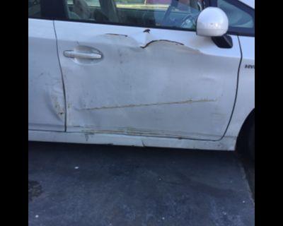 passenger side door or panel