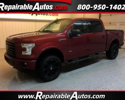 2015 Ford F-150 XLT SuperCrew 4WD Repairable Hail Damage