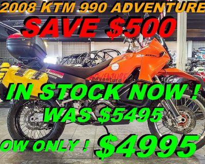 2008 KTM 990 Adventure Dual Purpose Salinas, CA