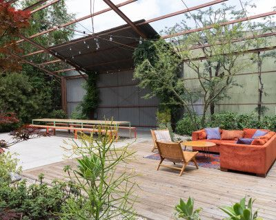 Industrial Garden in LA, Los Angeles, CA
