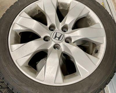 Colorado - FS: OEM rims and Nokian winter tires